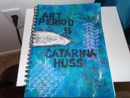 Sketch Book Cover by Chelia24