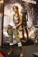 Tomb raider reborn at PGW by LiliDin