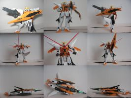 New Figure - Kyrios Gundam by ZulDzin
