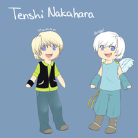 -chibi ref- Tenshi Nakahara by Agowilt