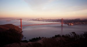 Golden Gate Bridge and SF by jefz