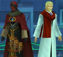 Ansem the Wise and DiZ for XNALara by LexaKiness