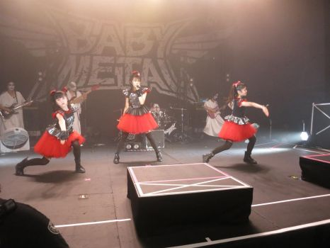 BABYMETAL 80 by iancinerate