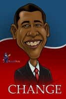 OBAMA_Cari by KozolArts