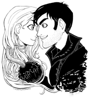 Cute Captain Swan by ColorMyMemory
