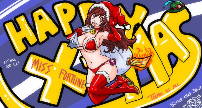 HOT MISS FORTUNE X-MAS by Hir0