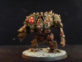 Death Guard Dreadnought by Sbags