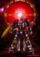 Toy Unicron and Galvatron by Gauntlet101010