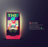Zune HD Wallpapers 1st Pack by TheIvanMad