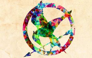 The Hunger Games: Watercolor Effect by ElijahVD