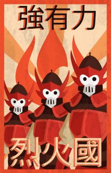 Fire Nation Propaganda by TheCuraga