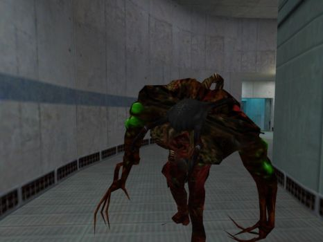 Gonome with HL2 Poison Headcrab by felipe13555