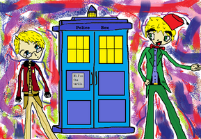 Doctor Who APH Style by PsychoBabble192