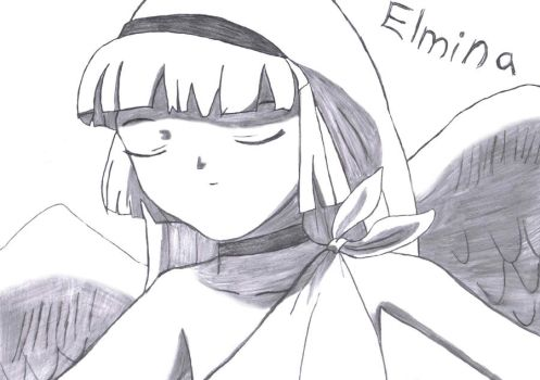 E is for Elmina by haruhi65