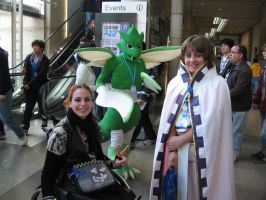 Scyther Pokemon Cosplay by whitestarflower