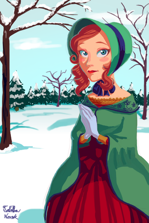 Winter lady by The-Tabbycat-Witch