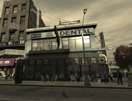 Pizza and Salad by GTA-IVplayer