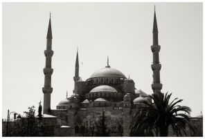 Sultan Ahmet Mosque by DysfunctionalKid