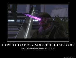 halo/skyrim demotivation meme by aruon