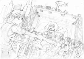 Ranka Lee - Academy City WIP by howeirong