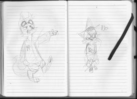 180 Notebook- Pages 86 and 87 by FoxTone