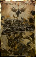 MLP The Lost Treasure of Griffonstone Movie Poster by pims1978