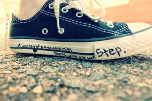 One Small Step.. by hopefortommorow