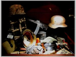 Waffen-SS Noncom Officer's Belongings by Valkyrja-Skuld