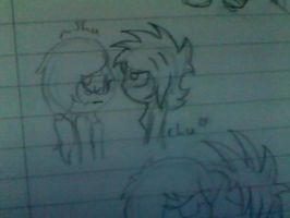 .:[SKETCH]Teenmelions:. by Maniactheleader