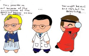 evil doctors by laicka03