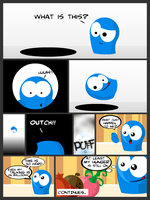 Rutabagabloo comic ''page1 by canecodesign
