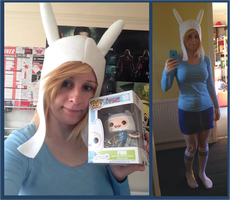 Fionna ADVENTURE TIME by BluePandaCosplay