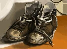 Still life- shoes by Nonobot