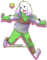 US Asriel by Ootani-kun