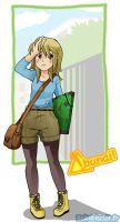Abunai in coming : Maemi. by Bisc-chan