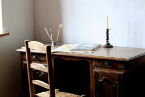 Writing Desk by okbrightstar-stock