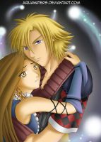 FFX-2 - Star Crossed Lovers by AquaWaters