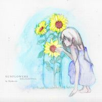 Sunflowers so Delightful by Hiyoko-riin
