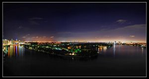 Miami by Night by FrozenWhisperx