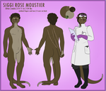[commission] ref sheet: Siggi by VIcTobious