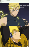 Laxus Question by AdvancedCelabration