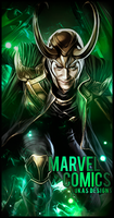 Loki (Marvel Comics) by LukasTw