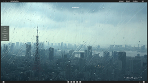 rain over the city by DocBerlin77