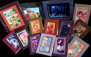 MLP Portrait and Art Prints by sophiecabra