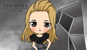 SNSD HYOYEON THE BOYS by squeegool