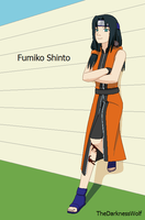 Fumiko, naruto oc by TheDarknessWolf