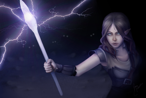 Storm Mage by abbottcreations