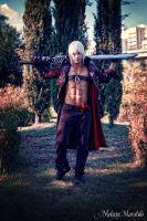 Dante and Rebellion - Devil May Cry 3 Cosplay Art by LeonChiroCosplayArt
