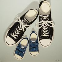 A Family Portrait in Shoes by AlishaKArd