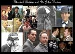 Holmes and Watson Collage by LinkxMidna4eva